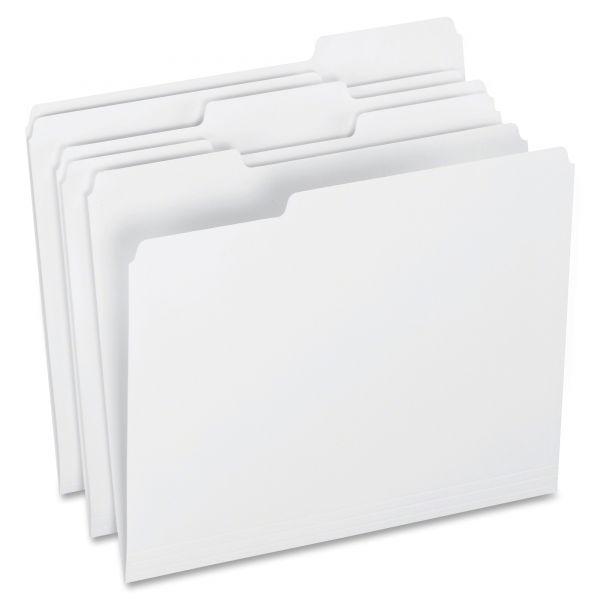 Pendaflex White Colored File Folders