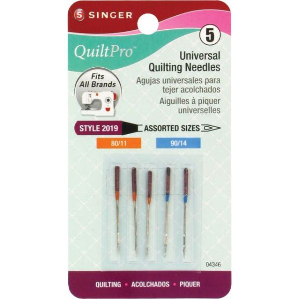 QuiltPro Universal Quilting Machine Needles