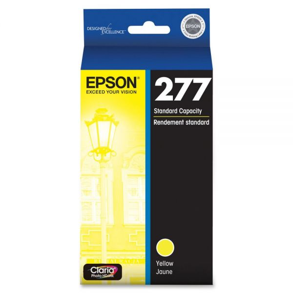 Epson 277 Claria Yellow Ink Cartridge (T277420)