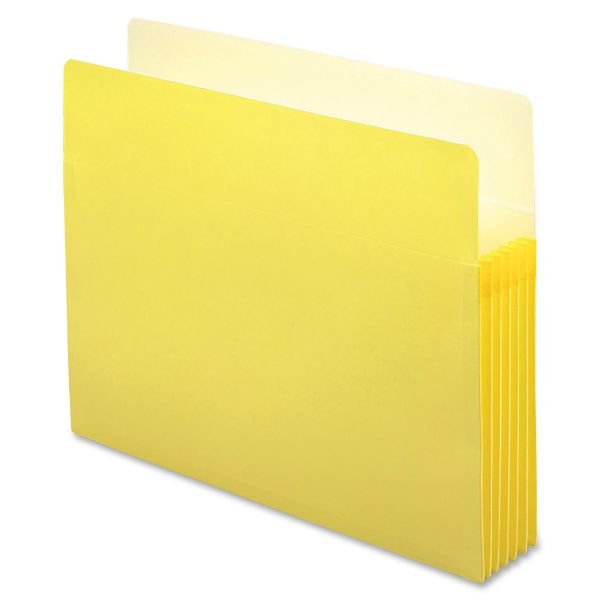 Smead 73243 Yellow Colored File Pockets