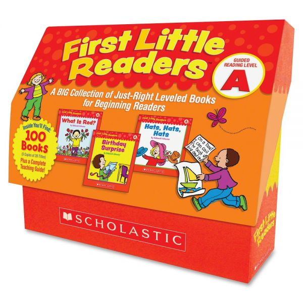 Scholastic Res. Level A 1st Little Readers Book Set Education Printed Book by Deborah Schecter - English