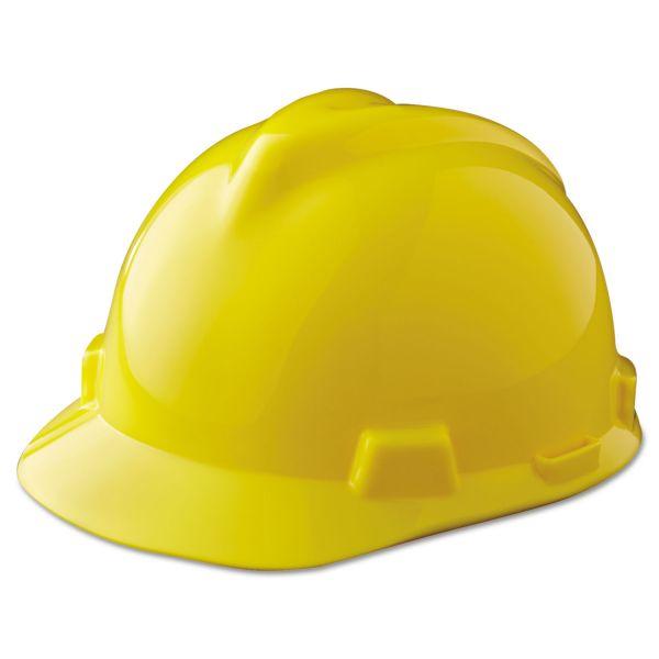 MSA V-Gard Cap Style Slotted Protective Hard Hat