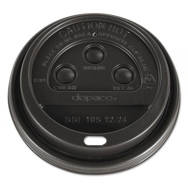 Dopaco Dome Coffee Cup Lids