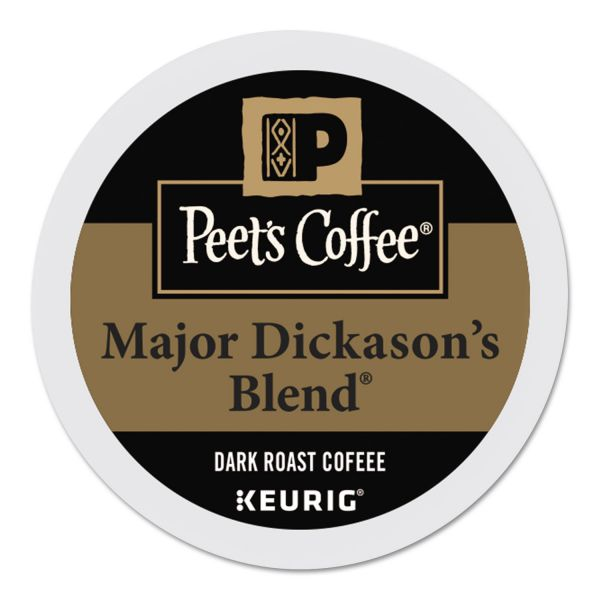 Peet's Coffee Major Dickason's Blend K-Cups