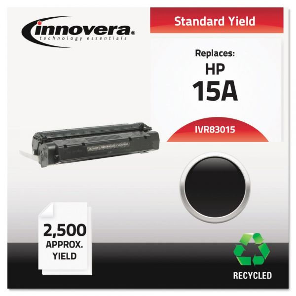Innovera Remanufactured C7115A (15A) Toner, Black