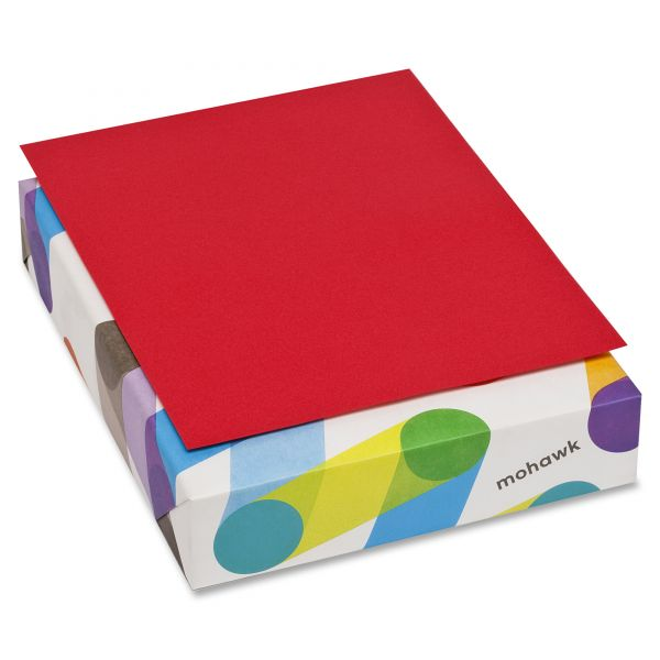 Mohawk BriteHue Colored Paper - Red