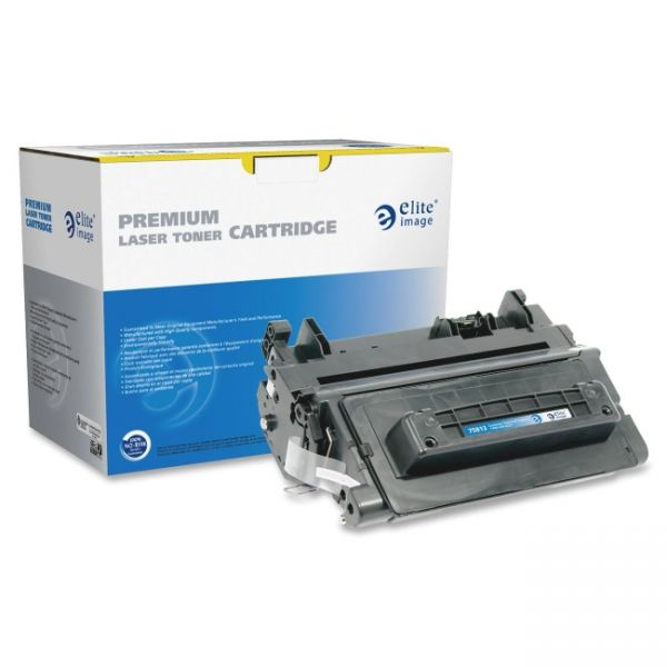 Elite Image Remanufactured HP 90A Black Toner Cartridge