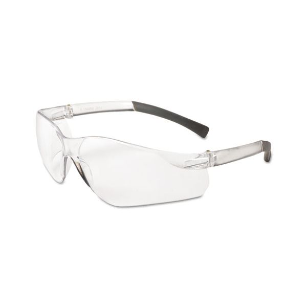 KleenGuard* V20 Eye Protection, Polycarbonate Frame, Clear Frame/Lens, 12 Pairs