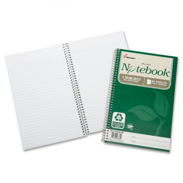 SKILCRAFT 1-Subject Spiral Notebook