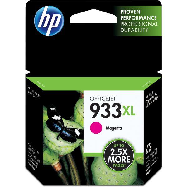 HP 933XL High Yield Magenta Ink Cartridge (CN055AN)