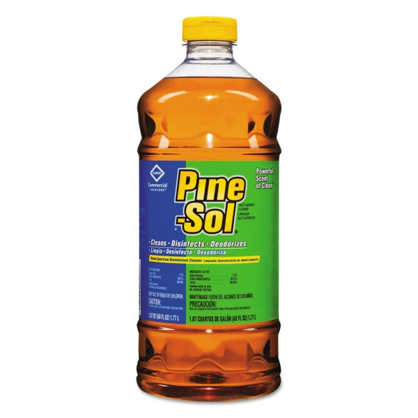 Pine-Sol Multi-Surface Cleaner Disinfectant, Pine, 60oz Bottle
