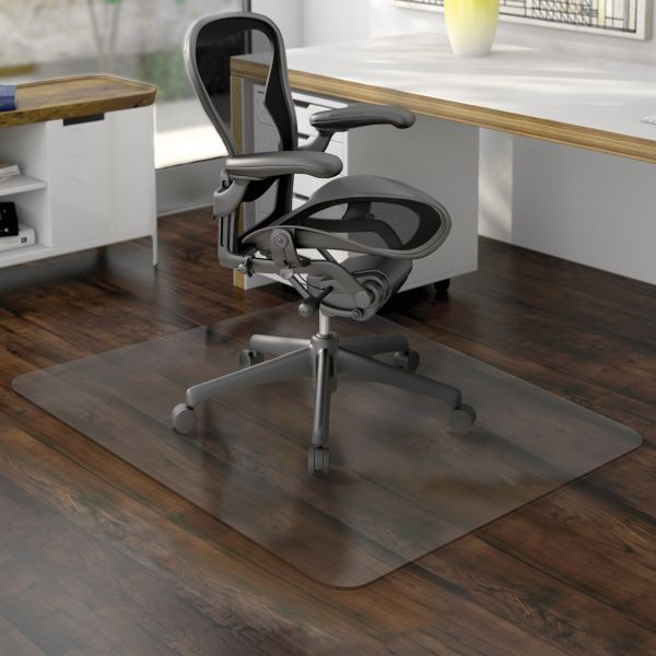 Deflecto Nonstudded EconoMat Hard Floor Chair Mat