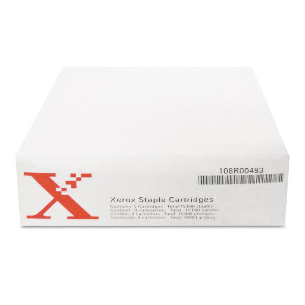 Xerox Staples for Xerox WORKCENTRE PRO245/M45/232/Others, 3 Cartridges, 15,000 Staples