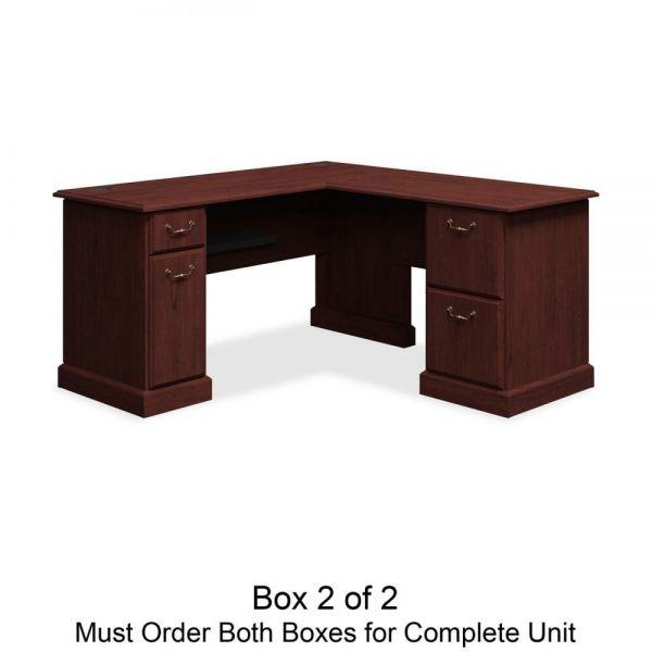 bbf Syndicate L-Desk Box 2 of 2 by Bush Furniture