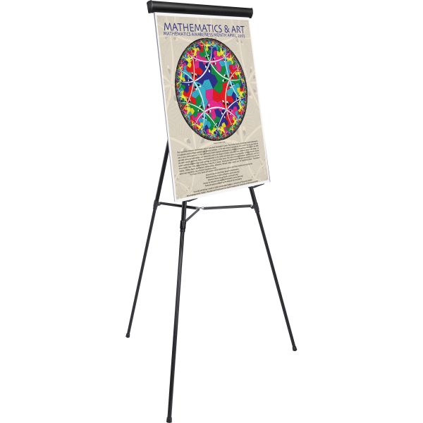 MasterVision Adjustable Telescoping Tripod Easel