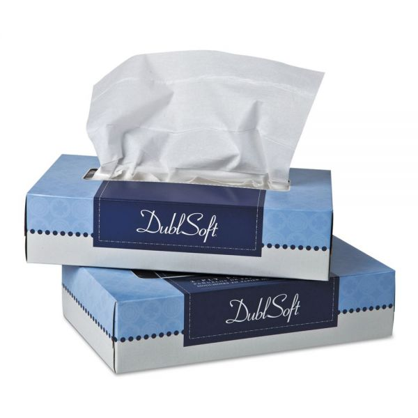 Double Soft 2-Ply Facial Tissues