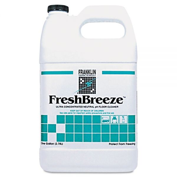 Franklin FreshBreeze Ultra Concentrated Neutral pH Floor Cleaner