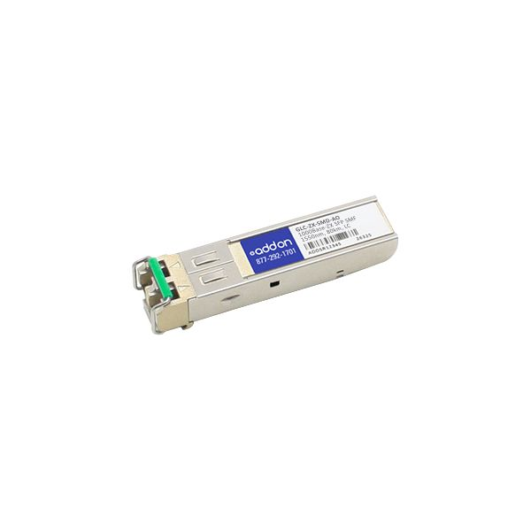AddOn Cisco GLC-ZX-SMD Compatible TAA Compliant 1000Base-ZX SFP Transceiver (SMF, 1550nm, 80km, LC, DOM)