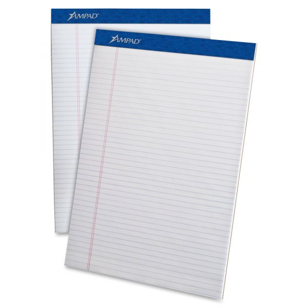Ampad Letter-Size White Legal Pads
