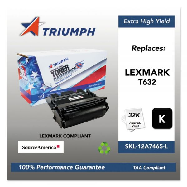Triumph Remanufactured Lexmark T632 Toner Cartridge