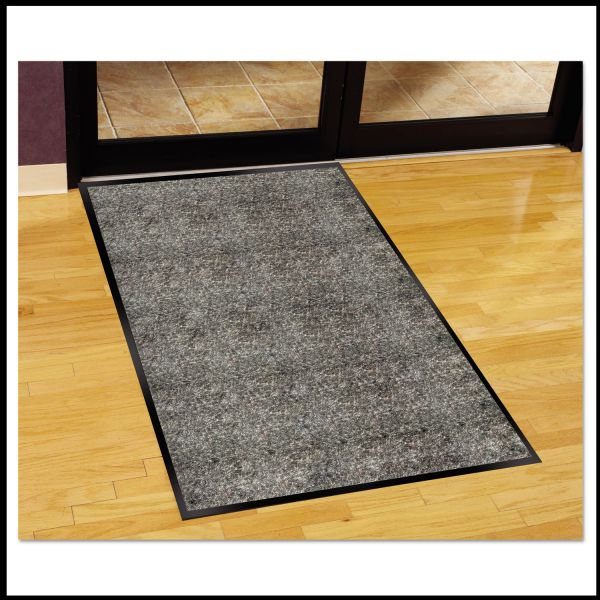 Guardian Silver Series Indoor Walk-Off Mat, Polypropylene, 36 x 60, Pepper/Salt