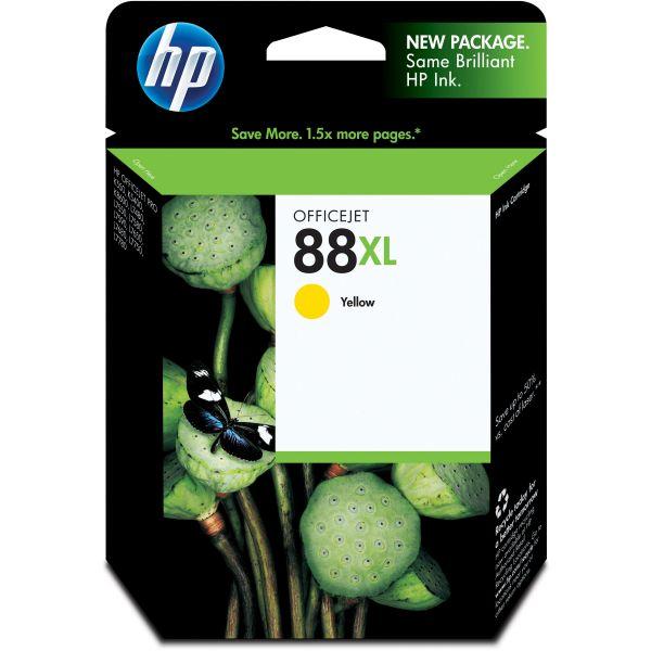 HP 88XL, (C9393AN) High Yield Yellow Original Ink Cartridge