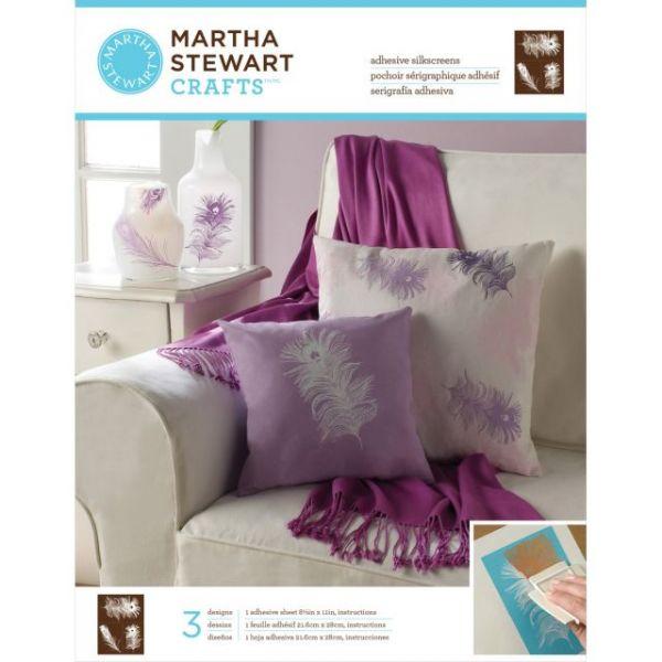 Martha Stewart Adhesive Silkscreen