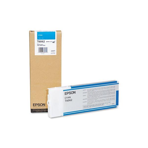 Epson T6062 Cyan Ink Cartridge