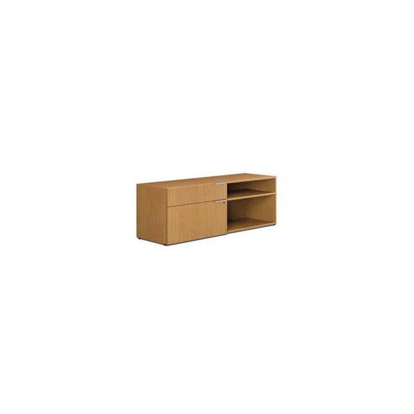 "HON Voi Low Left Credenza | 1 Box / 1 Lateral Drawer | 60""W"