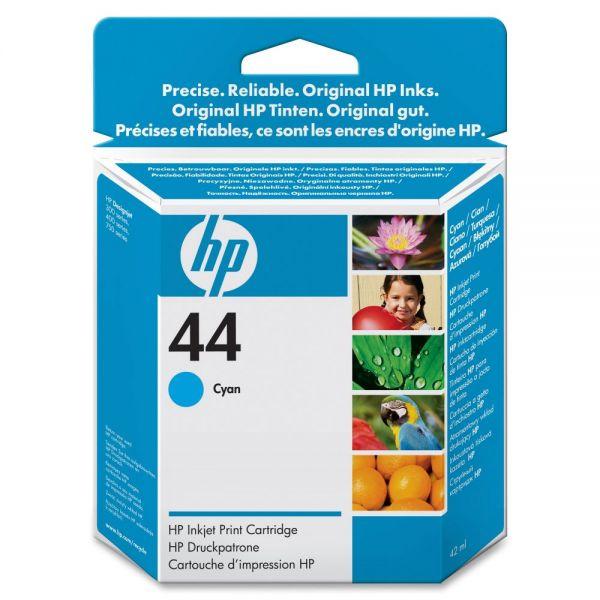 HP 44 Cyan Ink Cartridge (51644C)