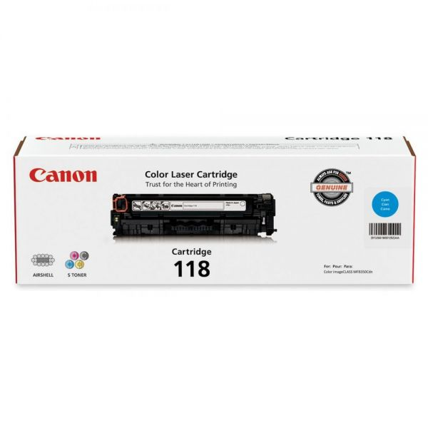 Canon 118 Cyan Toner Cartridge (CRTDG118-CY)
