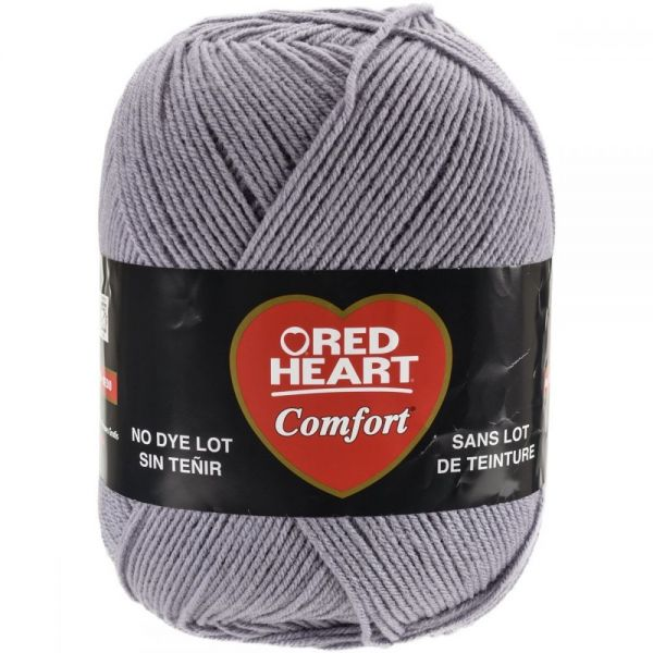 Red Heart Comfort Yarn - Gray