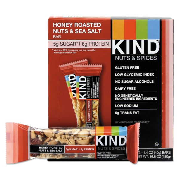 KIND Nuts and Spices Bars