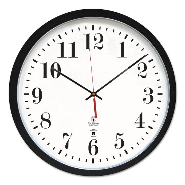 Chicago Lighthouse Contemporary Slimline Wall Clock