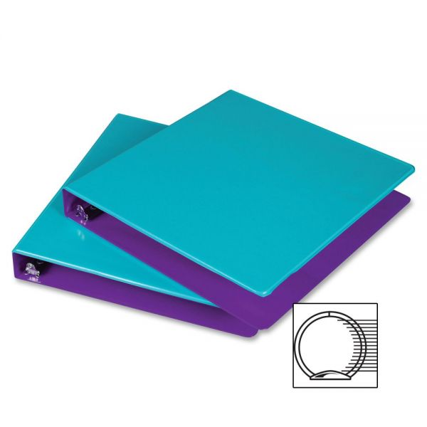 "Samsill Fashion Two-Tone 1 1/2"" 3-Ring View Binder"