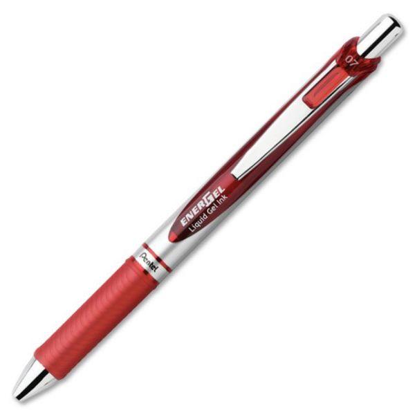 EnerGel Liquid Steel Tip Gel Pens