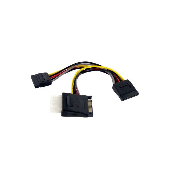StarTech.com SATA to LP4 with 2x SATA Power Splitter Cable