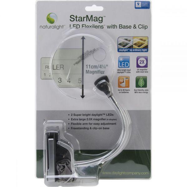 Naturalight StarMag LED Flexilens W/Base & Clip
