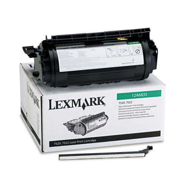Lexmark 12A6835 Black High Yield Return Program Toner Cartridge