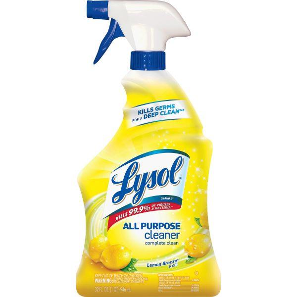 Lysol Lemon All Purpose Cleaner