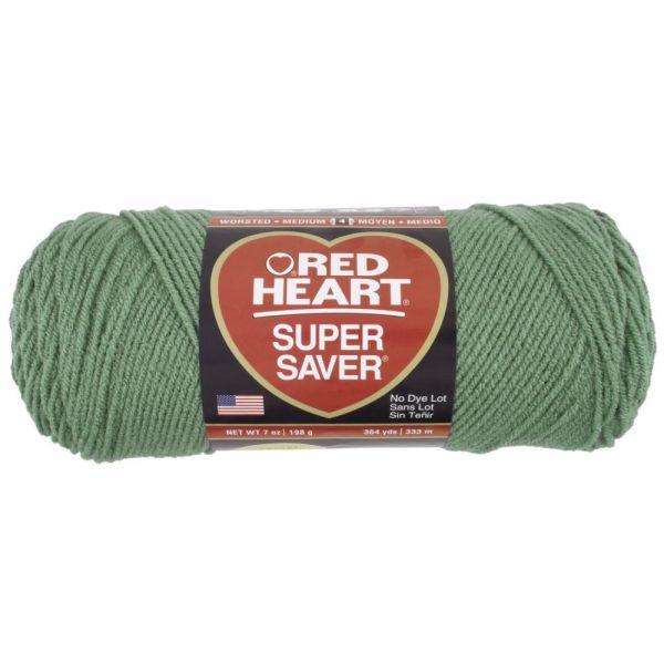 Red Heart Super Saver Yarn - Light Sage
