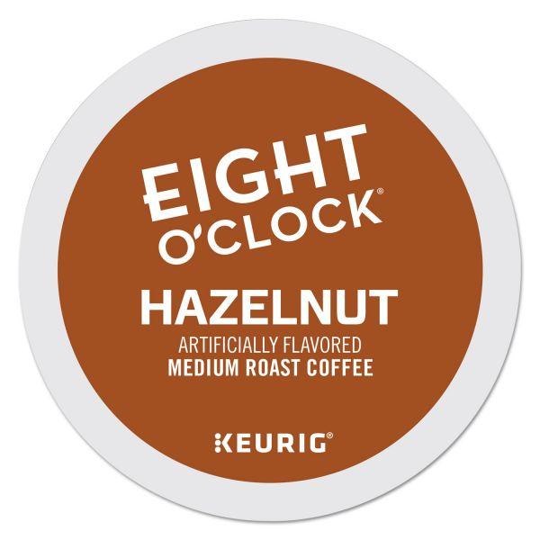 Eight O'Clock Hazelnut Coffee K-Cups
