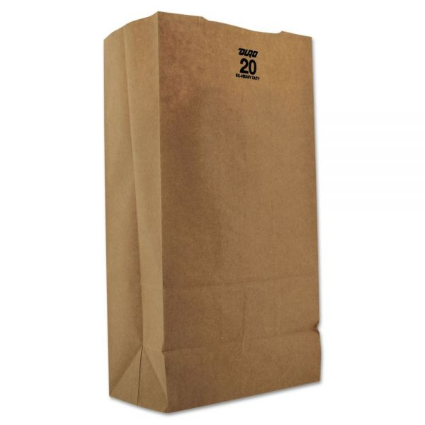 General #20 Extra Heavy-Duty Brown Paper Grocery Bags