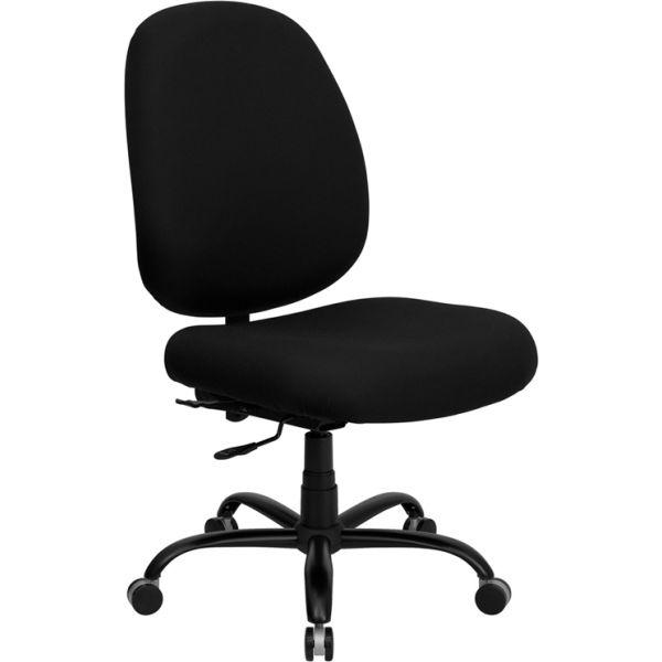 Flash Furniture Big & Tall Executive Swivel Office Chair [WL-715MG-BK-GG]