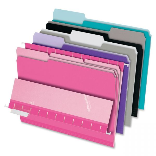 Pendaflex Colored Interior File Folders