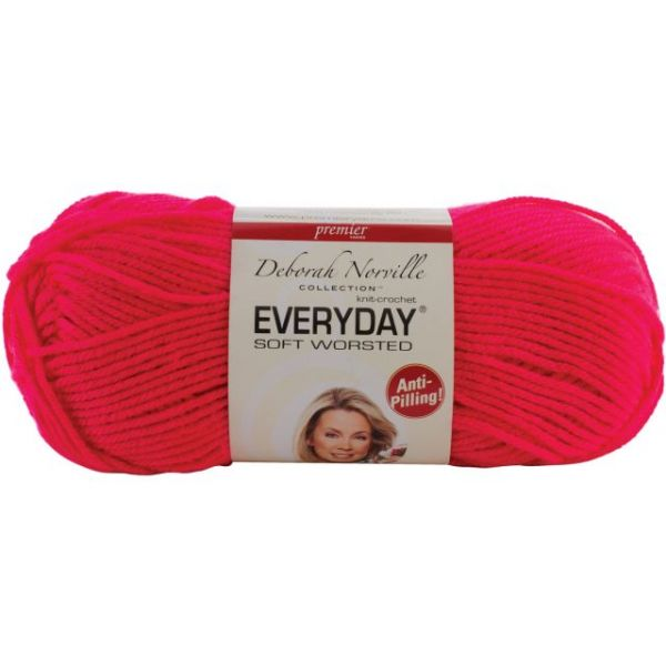 Deborah Norville Collection Everyday Yarn - Neon Pink