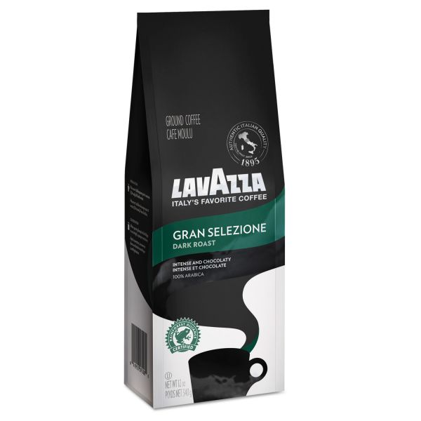 Lavazza Gran Selezione Dark Roast Ground Coffee French Press (3/4 lbs)