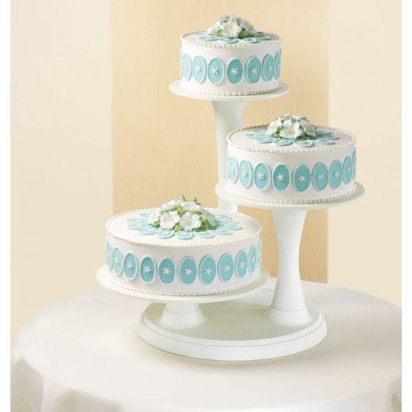 3 Tier Pillar Cake Stand