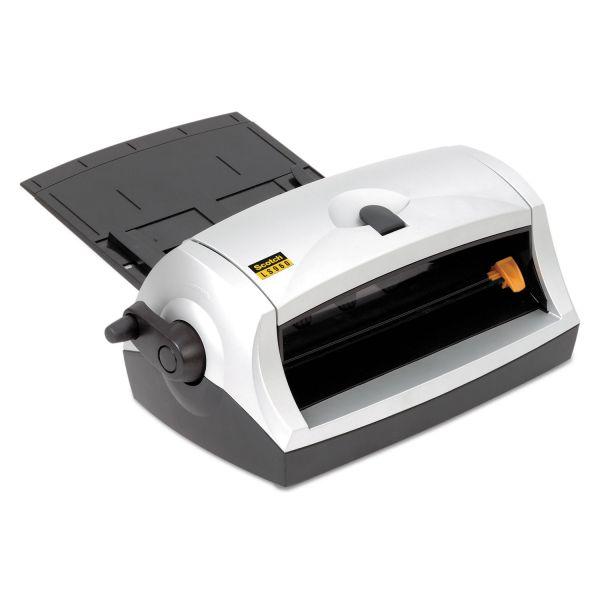 "Scotch Heat-Free Laminator, 8.5"" Wide, w/DL961 Dual-Laminate Starter Cartridge"