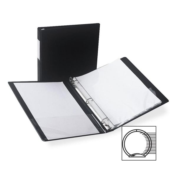 "Samsill Antimicrobial Locking 1/2"" 3-Ring Binder"